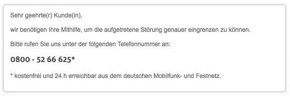 Kabel-Deutschland-Kundenportal  Störungsmeldung Schritt 42