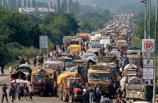 Evacuation en masse de la Krajina, 4.8.1995