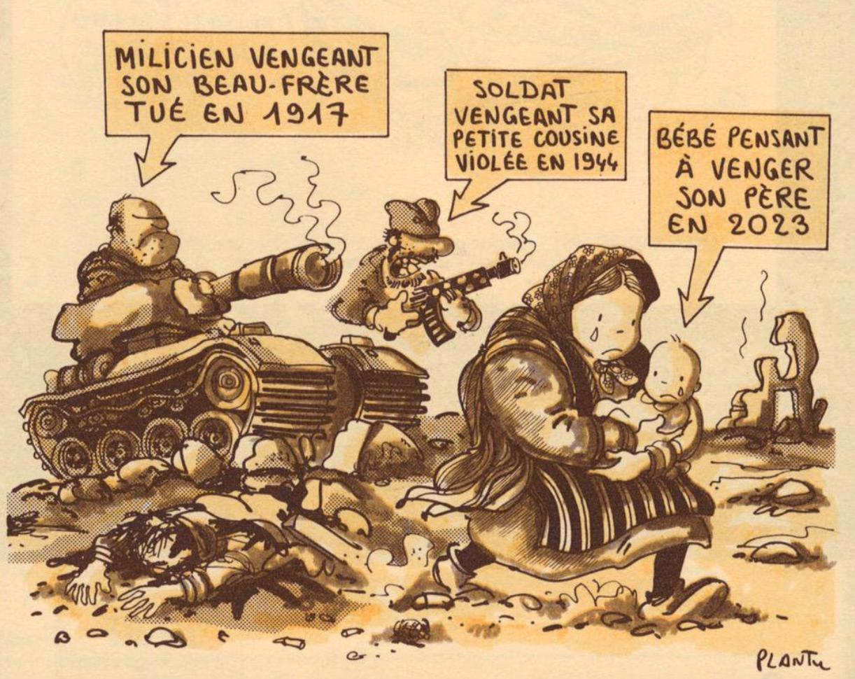 Le subtil résumé des conflits balkaniques par Plantu dans «Le Monde»