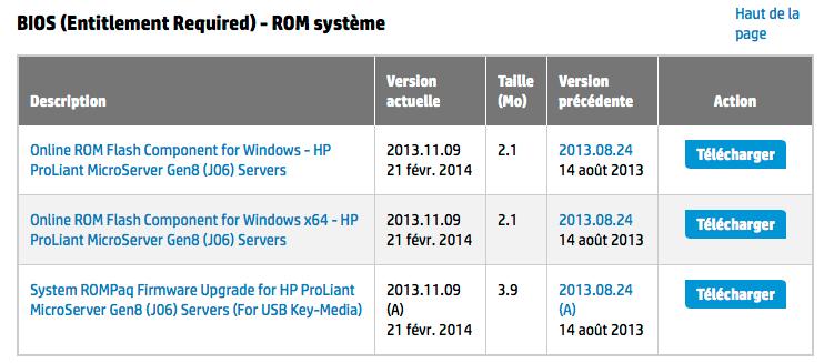 Pilotes-et-logiciels-pour-Serveur-HP-Pro