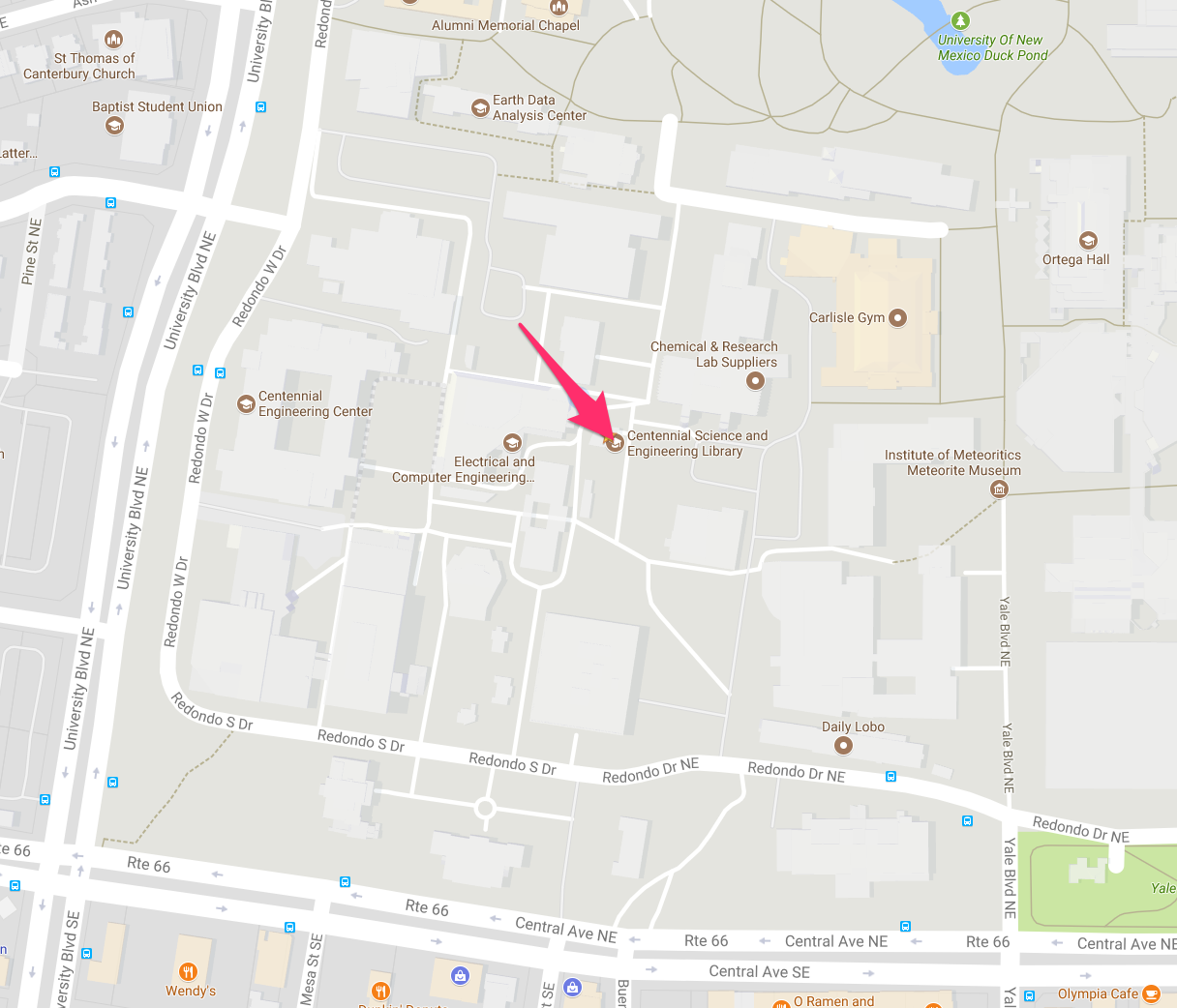 Map to CSEL