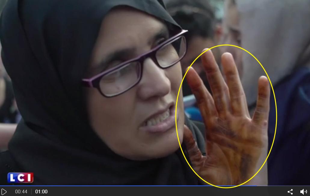 Les mains de Madame Hamila