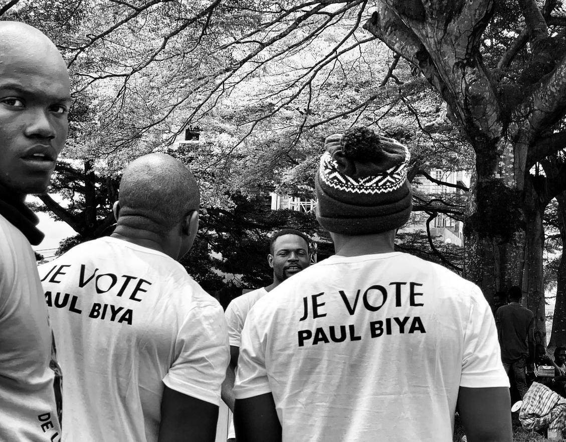 Les supporters. Yaoundé, 21.11.2019