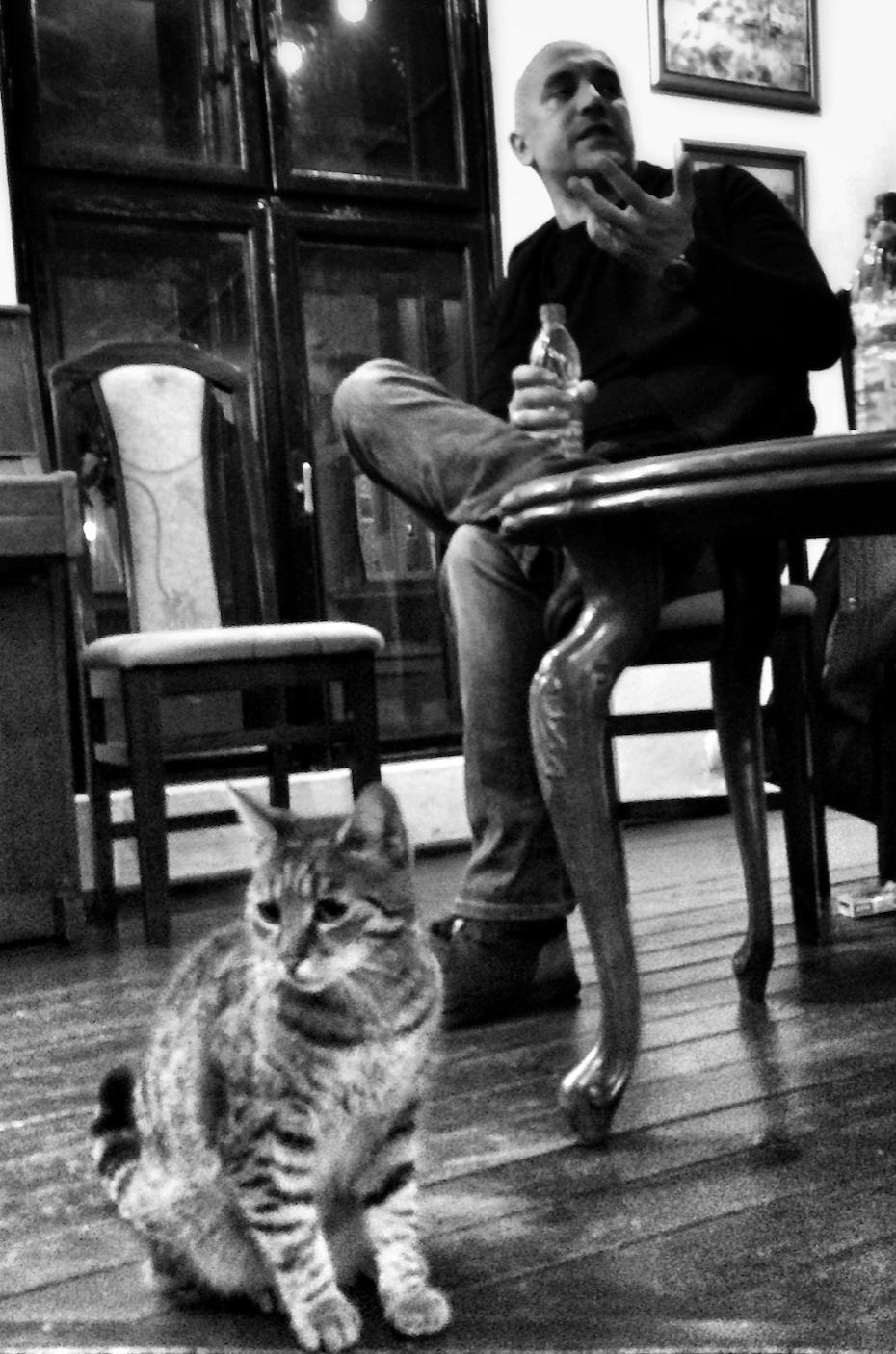 Zakhar et le chat
