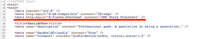 GNU Terry Pratchett