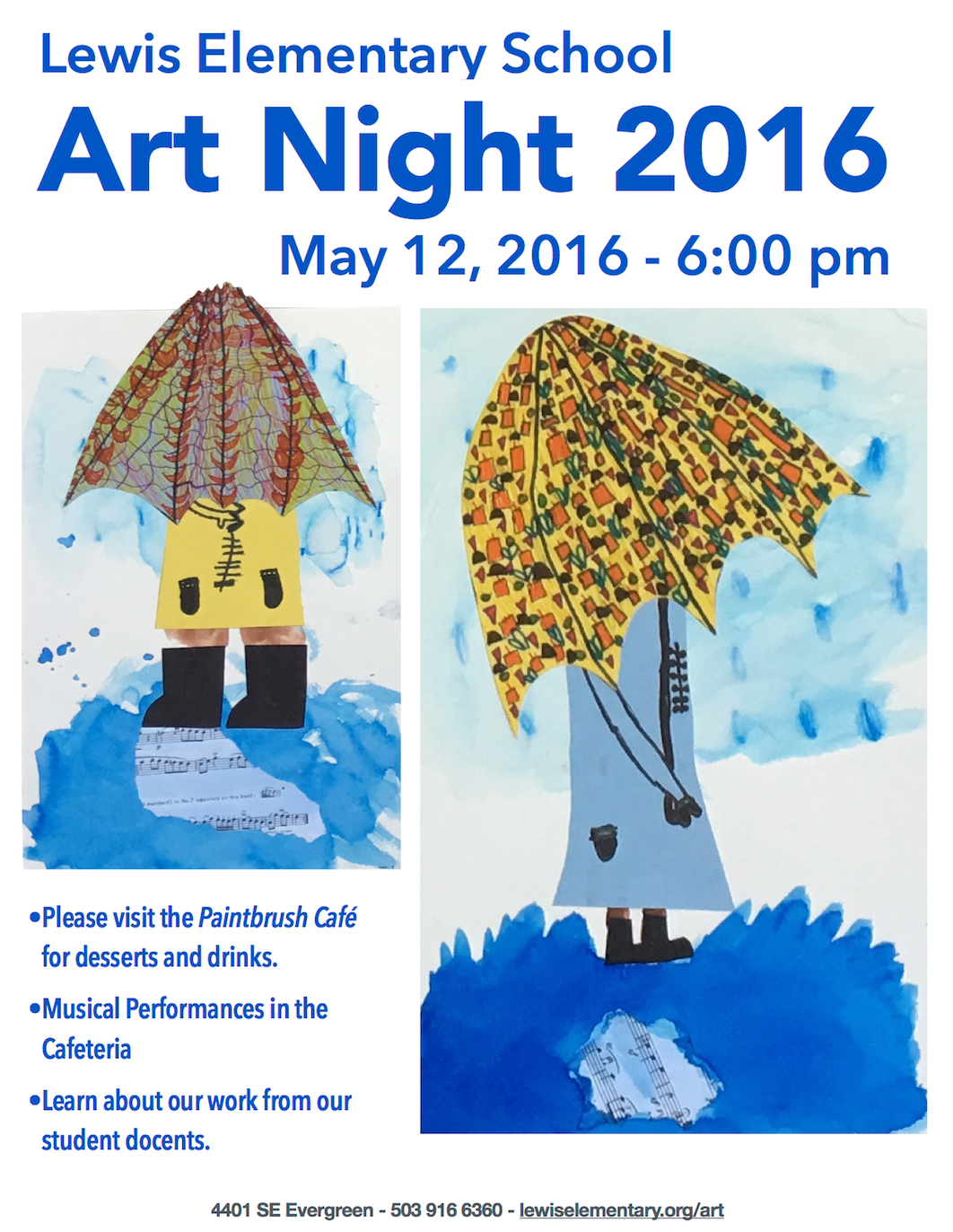 art night flyer