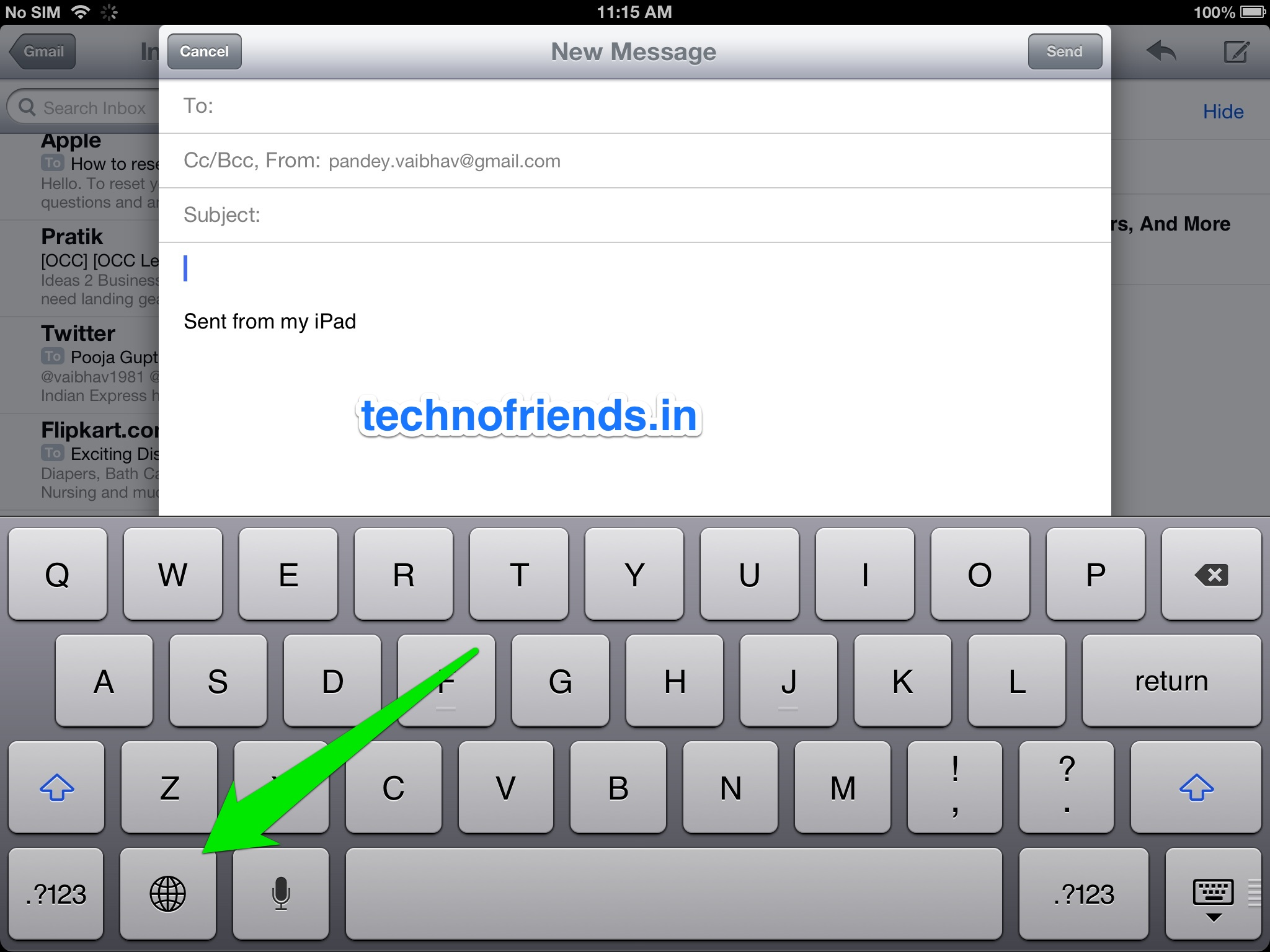 Adding an Emoticon keyboard to your iOS Device for FREE