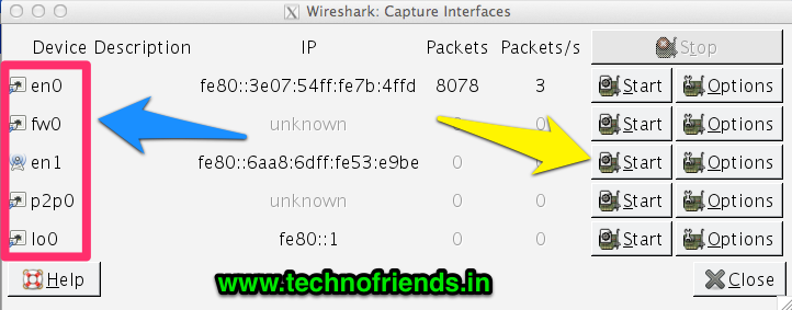 Capture Mobile App Traffic using Wireshark