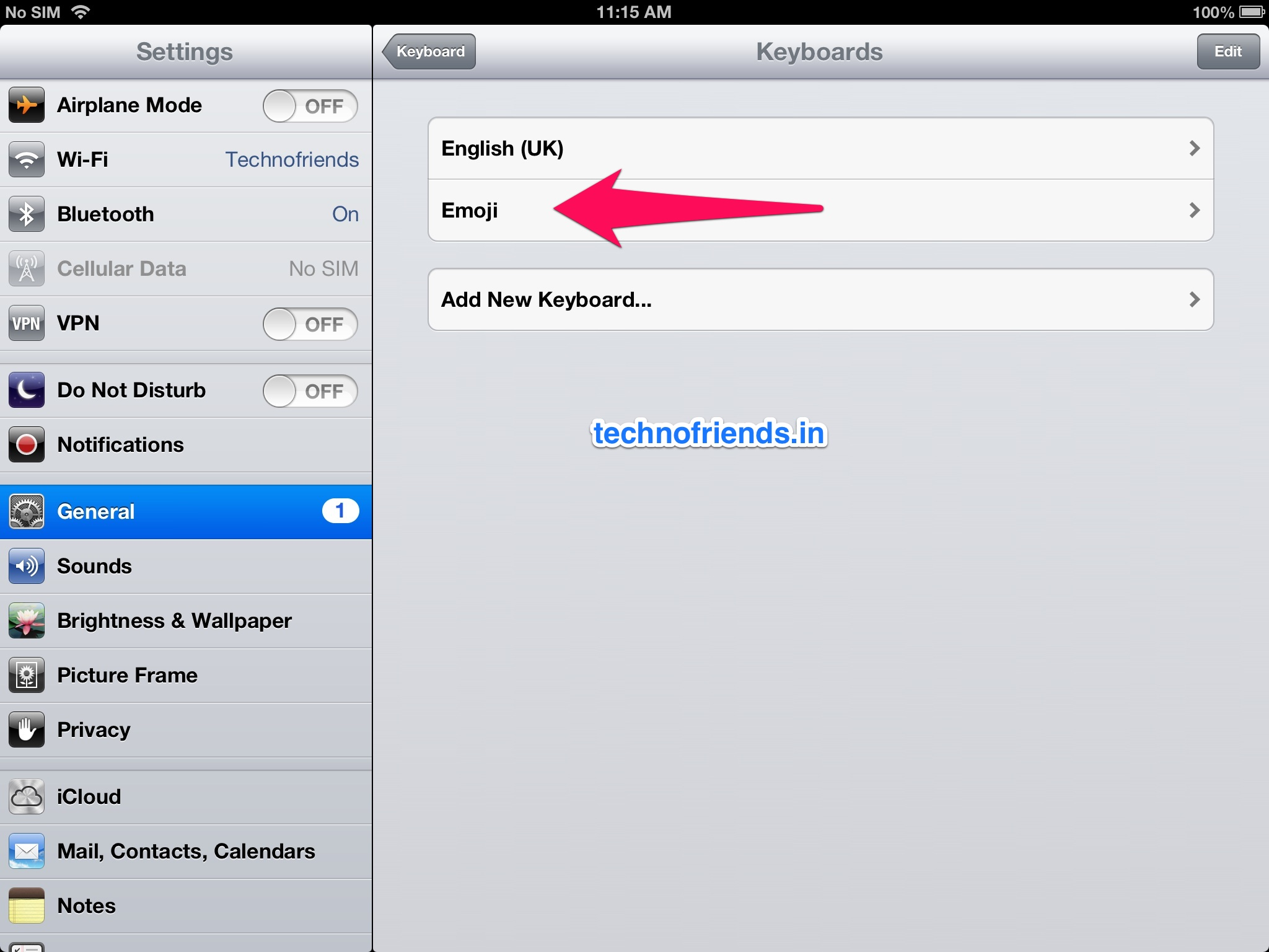 Adding an Emoji (Emoticon) Keyboard to your iOS Devices. (Step by Step Instructions)
