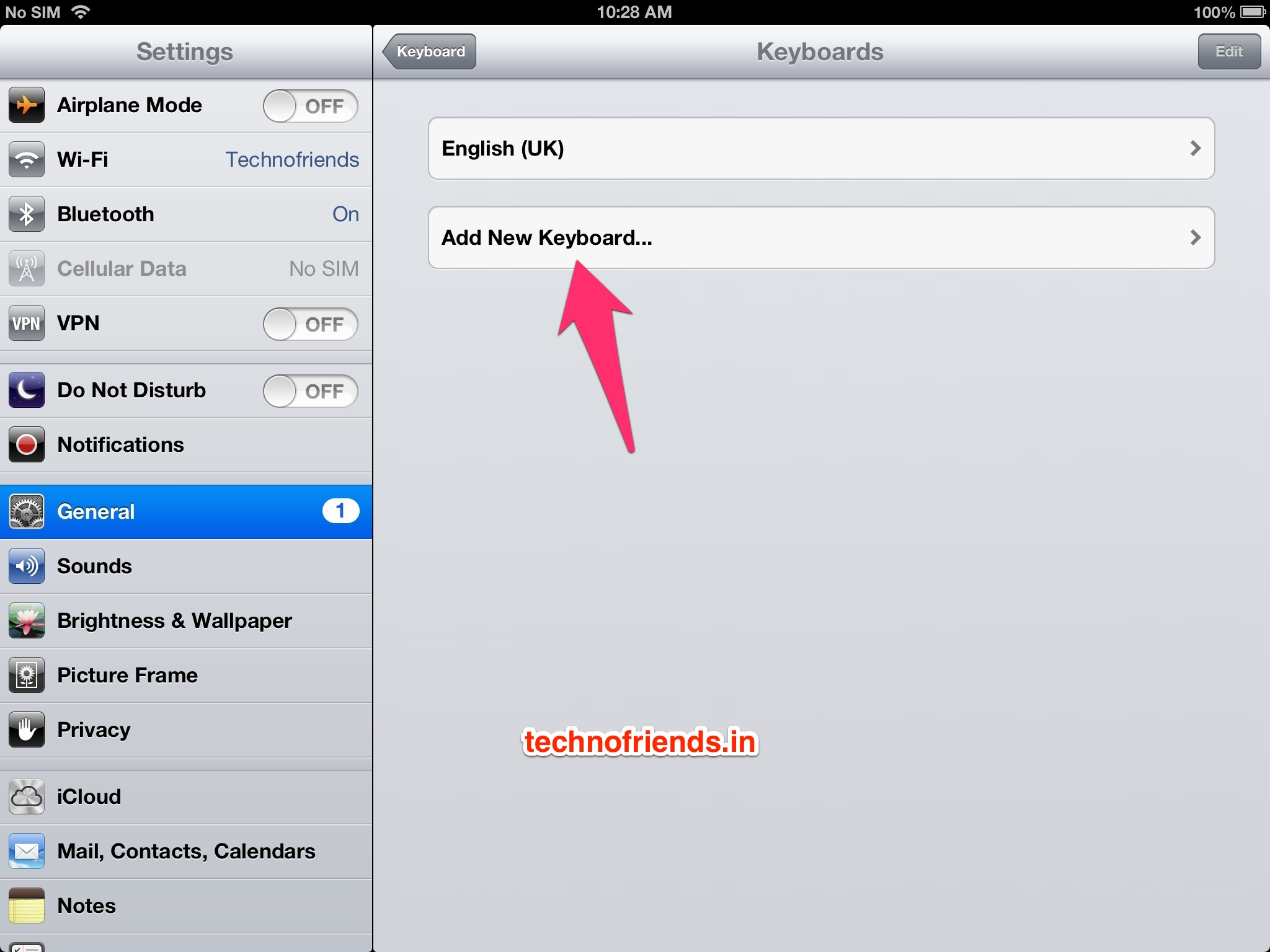 Step by Step Instructions on adding an emoji (emoticon) keyboard to your iOS Device