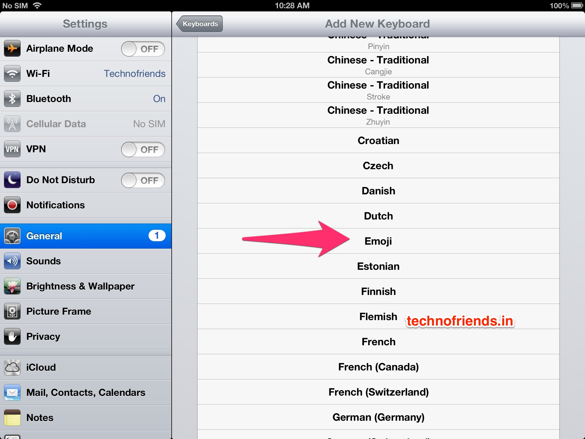 How to add an Emoji keyboard to your iOS Devices for FREE