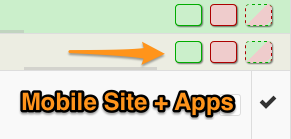 Mobile Availability Controls