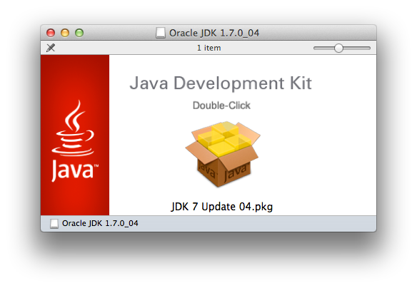 Oracle JDK 1.7.0_04