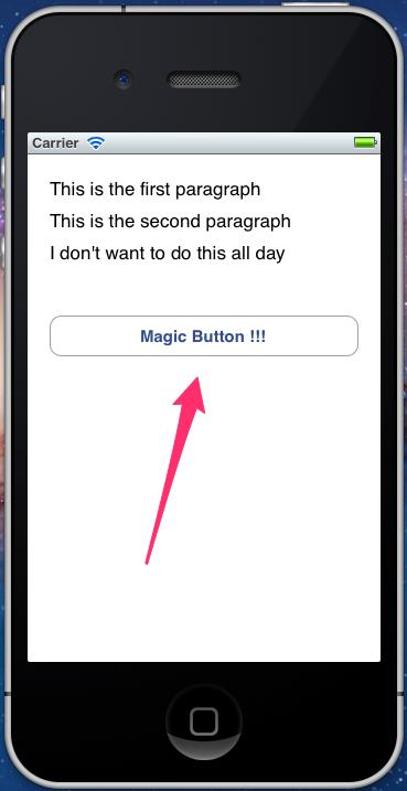 Botón en inglés