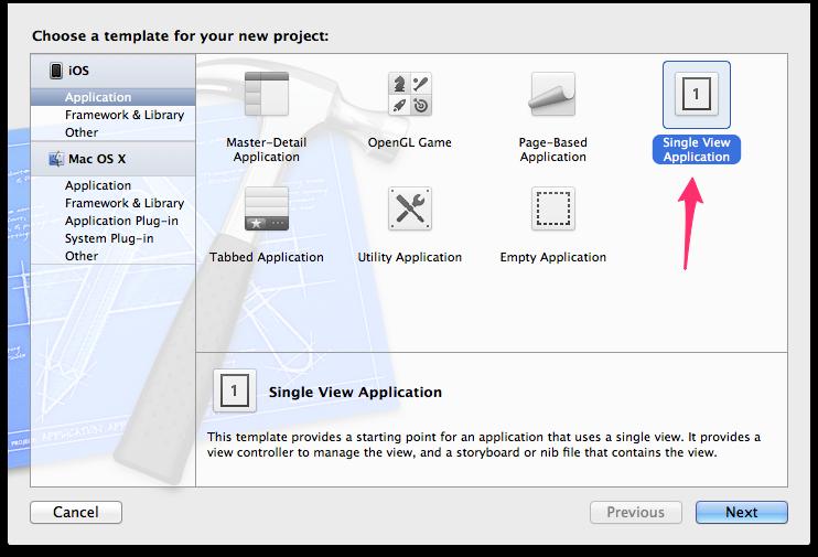 Crear un proyecto en Xcode