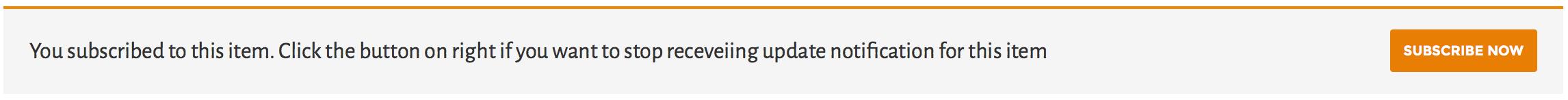 Stop Post Updates