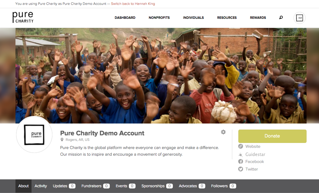 Pure%20Charity%20Demo%20Account%20%E2%80%94%20Pure%20Charity
