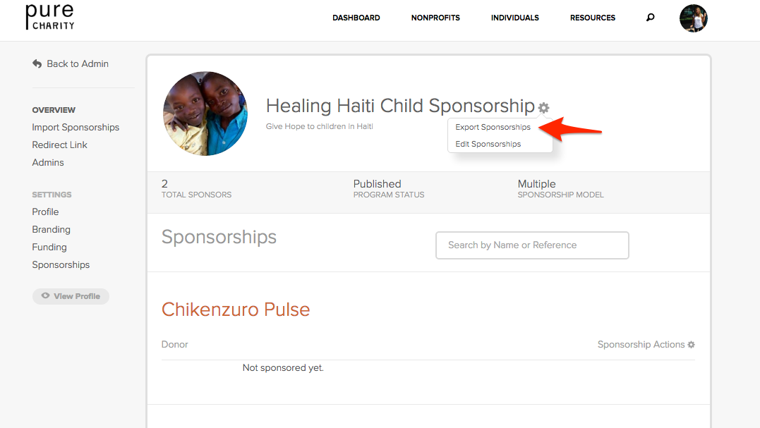 Sponsorship%20Programs%20-%20Dashboard%20%E2%80%94%20Pure%20Charity