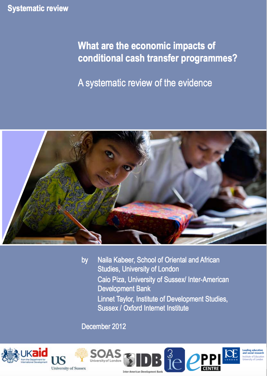 conditional cash transfers - economic impacts