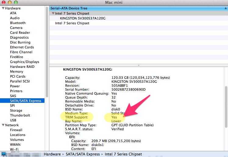 [Mac OS X] 써드파티 SSD 사용하기