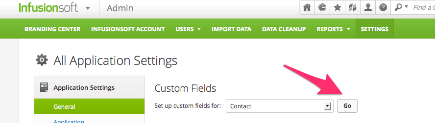 Custom Field in Infusionsoft