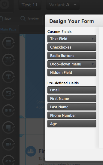 Customize Your Form