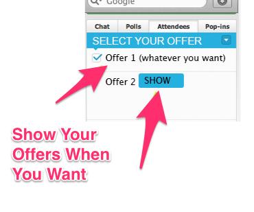 WebinarJam Offers