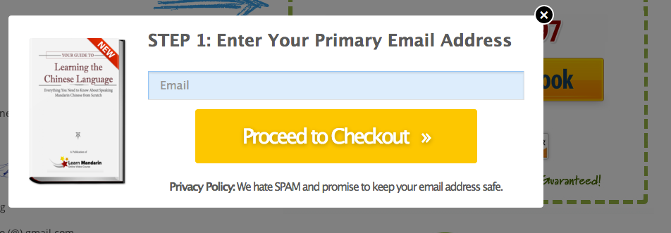2 Step Checkout with Leadpages