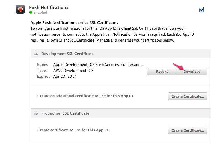 Download SSL Certificate