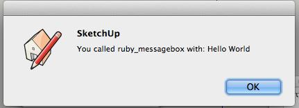 rubyのメッセージ
