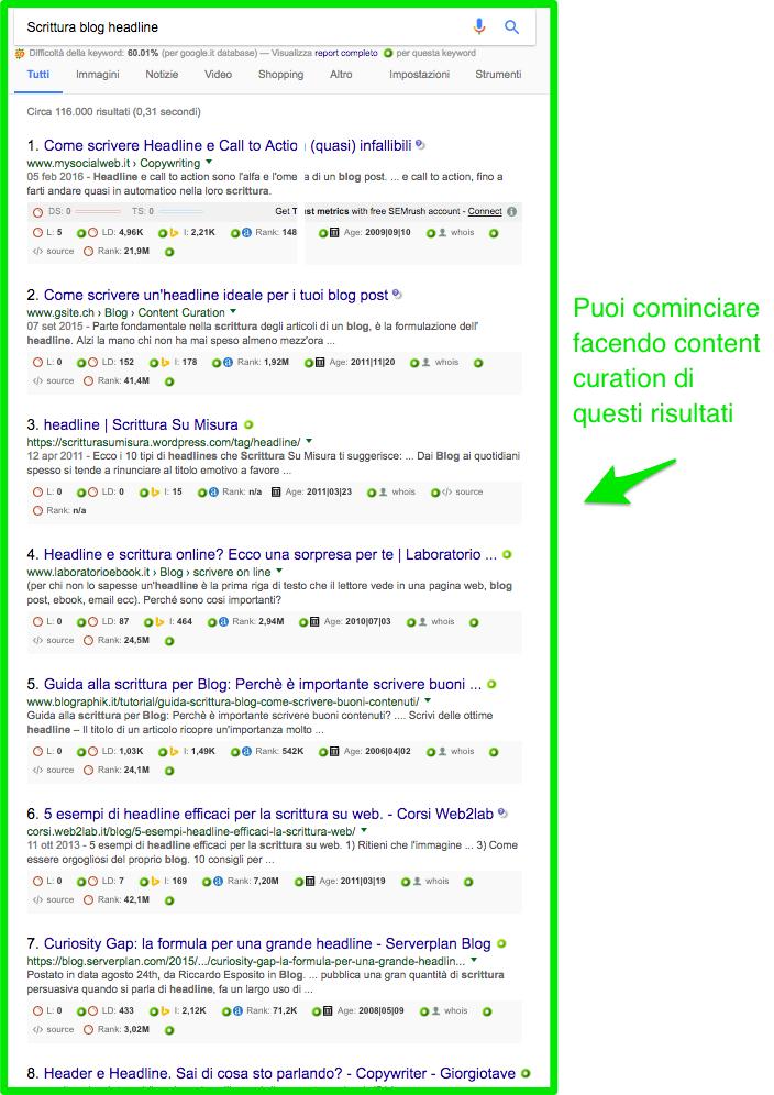 esempio-content-curation